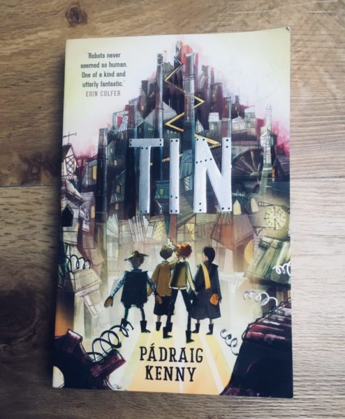 Tin – a young adult novel by Pådraig Kenny