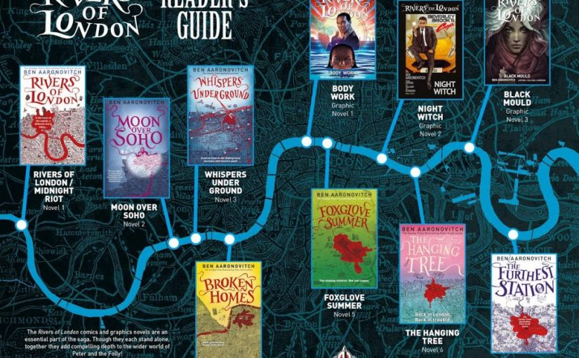 Ben Aaronovich – Rivers of London Series