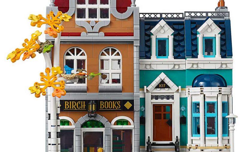 LEGO are releasing a Bookshop modular!