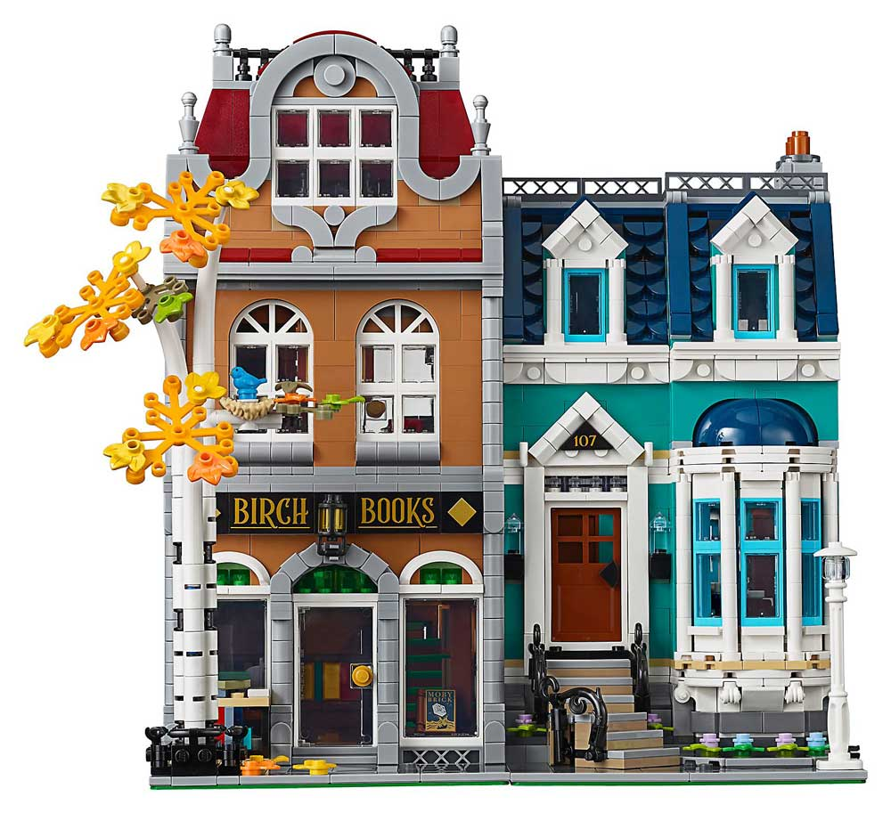 LEGO are releasing a Bookshop modular!